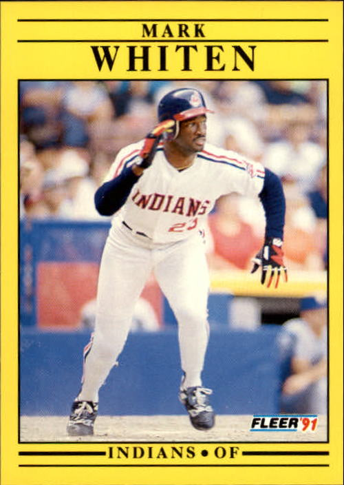 1991 Fleer Update #21 Mark Whiten