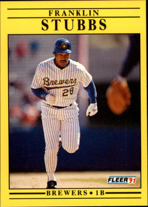 1991 Fleer Update #34 Franklin Stubbs