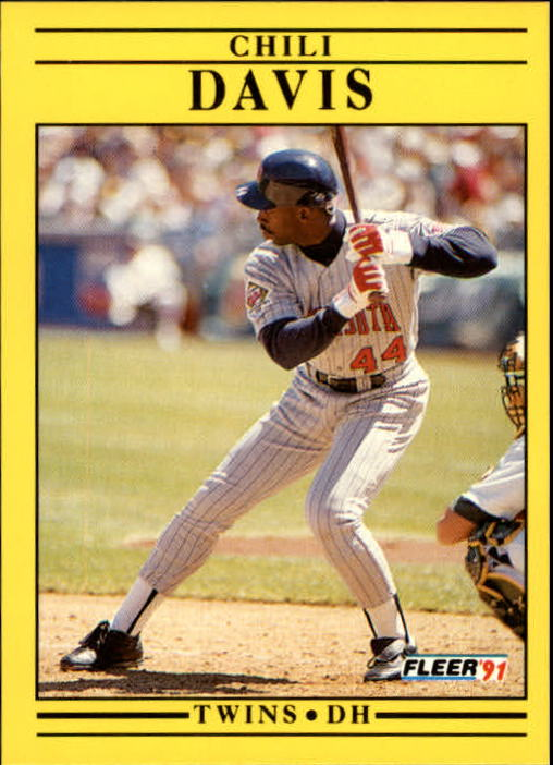 1991 Fleer Update #36 Chili Davis
