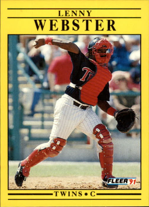1991 Fleer Update #41 Lenny Webster