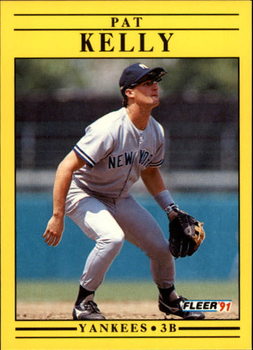 1991 Fleer Update #46 Pat Kelly RC