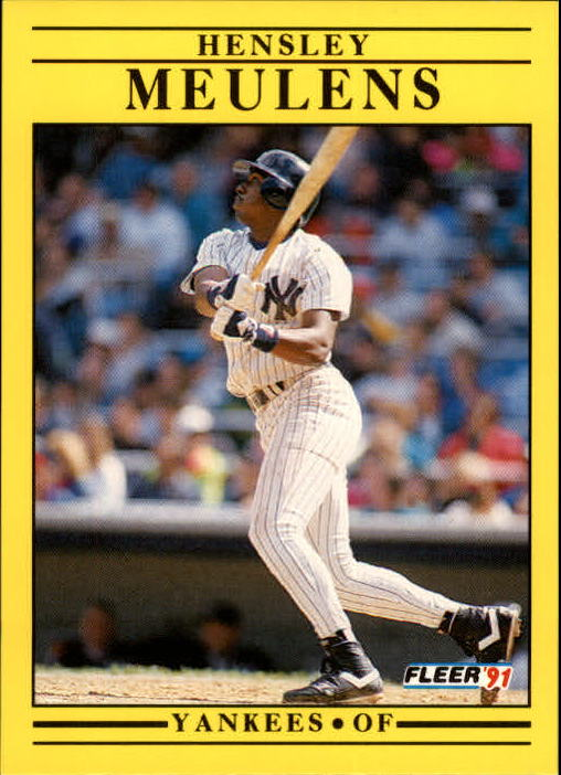 1991 Fleer Update #47 Hensley Meulens