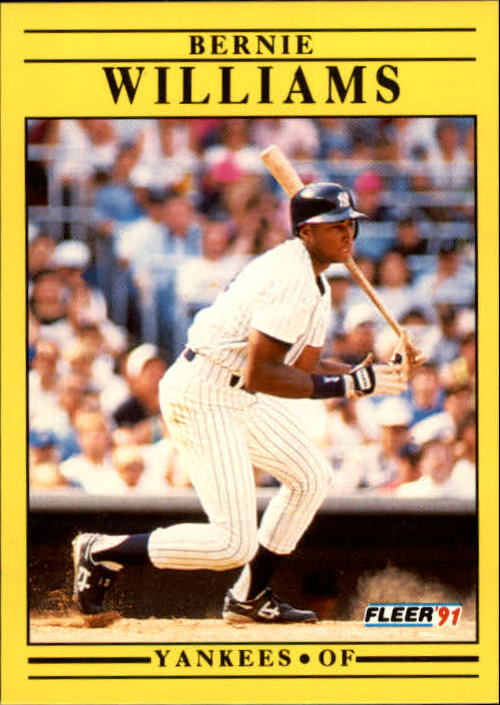 1991 Fleer Update #49 Bernie Williams