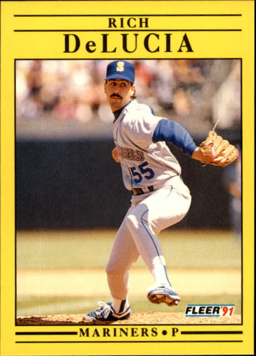 1991 Fleer Update #52 Rich DeLucia RC