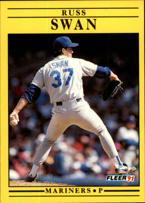 1991 Fleer Update #57 Russ Swan