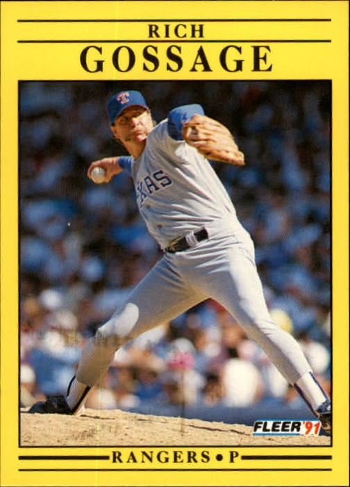 1991 Fleer Update #59 Rich Gossage