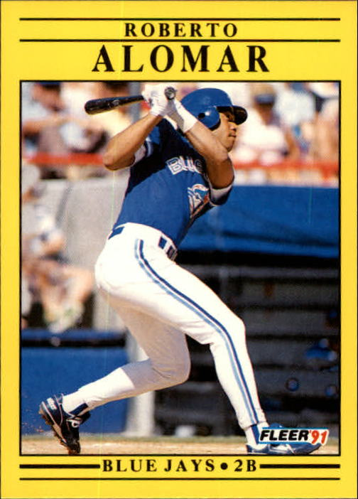 1991 Fleer Update #63 Roberto Alomar