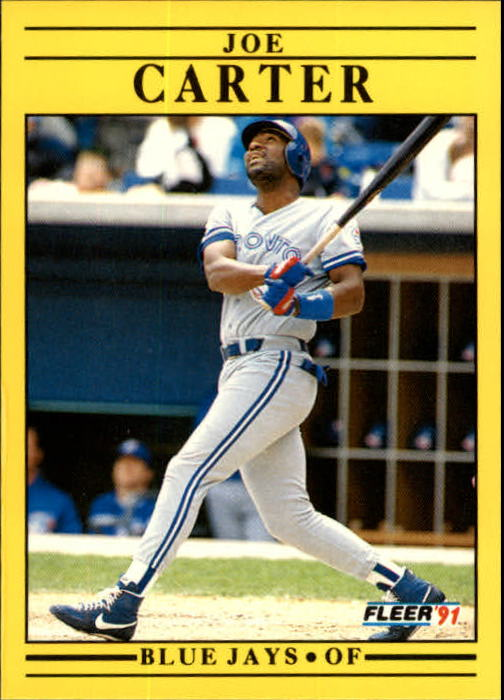 1991 Fleer Update #65 Joe Carter