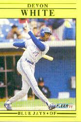 1991 Fleer Update #69 Devon White