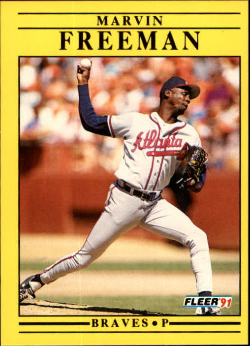 1991 Fleer Update #73 Marvin Freeman