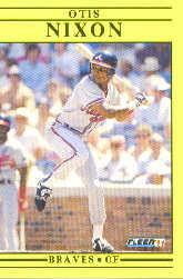 1991 Fleer Update #75 Otis Nixon
