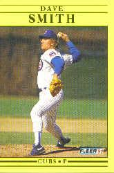 1991 Fleer Update #82 Dave Smith