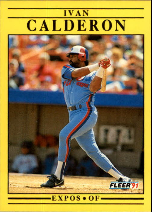 1991 Fleer Update #97 Ivan Calderon