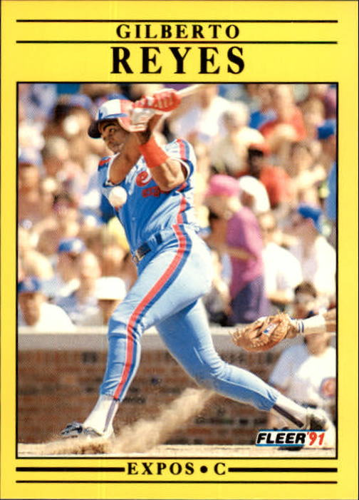 1991 Fleer Update #99 Gilberto Reyes
