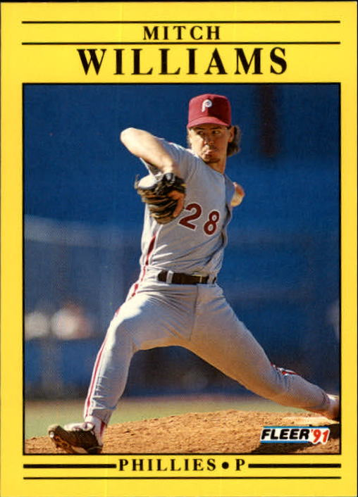 1991 Fleer Update #110 Mitch Williams
