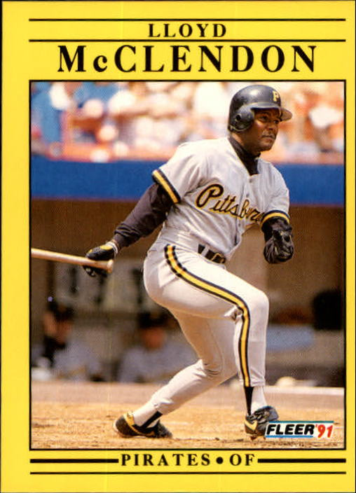 1991 Fleer Update #111 Lloyd McClendon