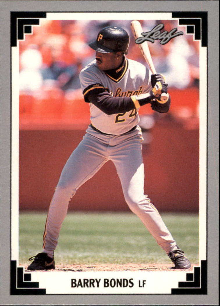 1991 Leaf Previews #9 Barry Bonds
