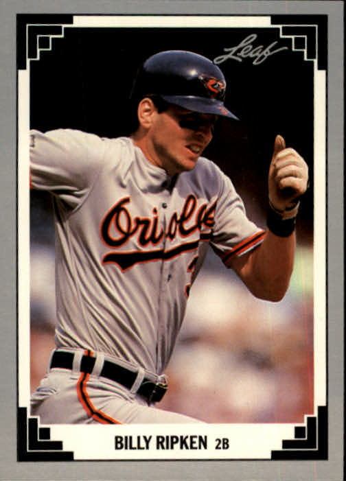 1991 Leaf #7 Billy Ripken