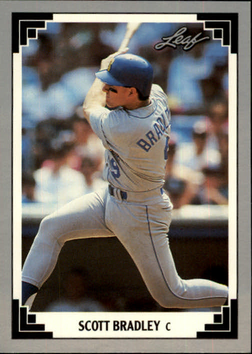 1991 Leaf #99 Scott Bradley