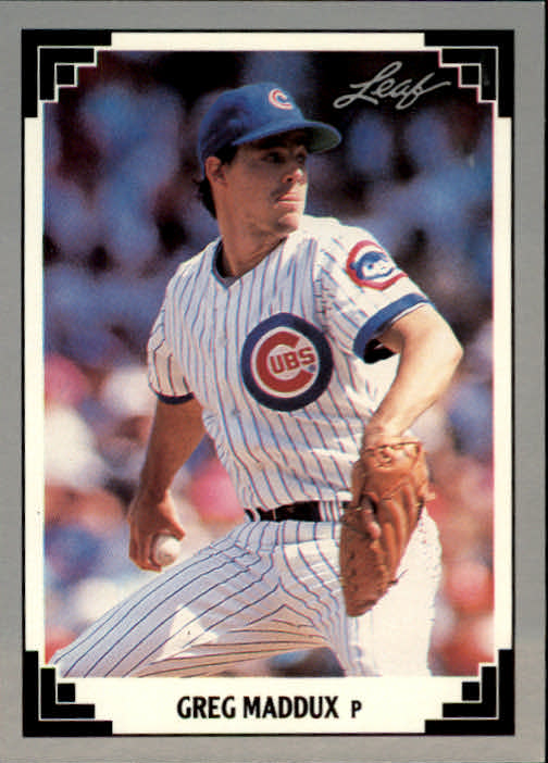 1991 Leaf #127 Greg Maddux