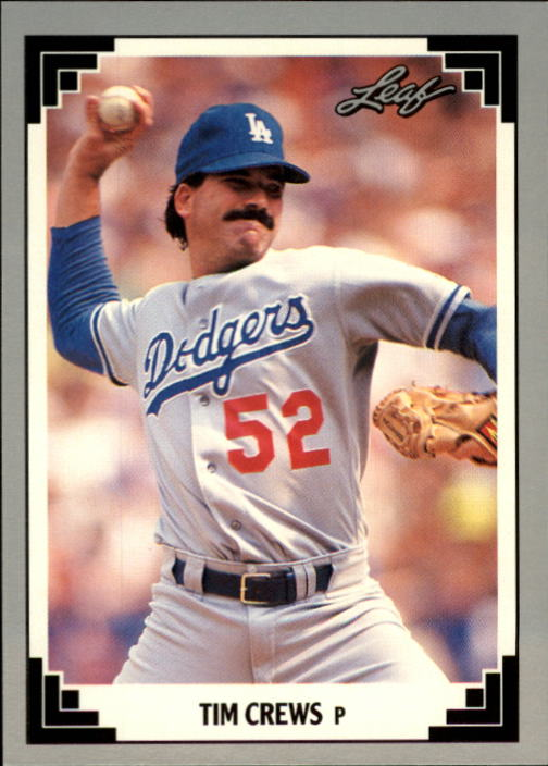 1991 Leaf #141 Tim Crews