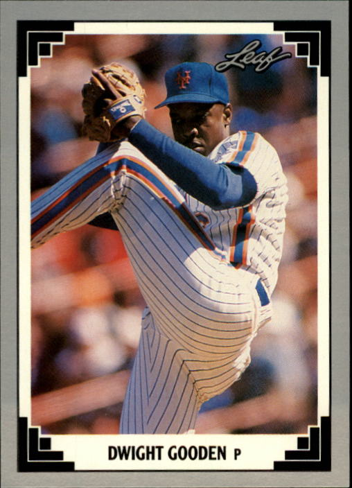 1991 Leaf #165 Dwight Gooden