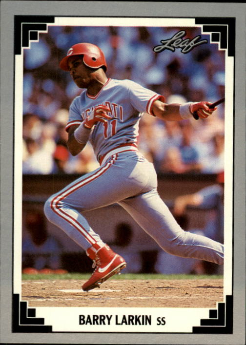 1991 Leaf #168 Barry Larkin