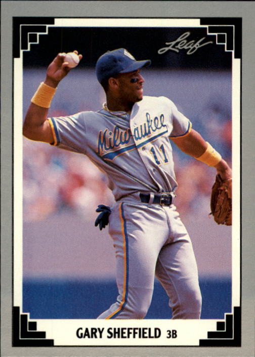 1991 Leaf #173 Gary Sheffield
