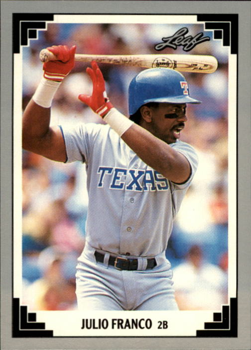 1991 Leaf #228 Julio Franco