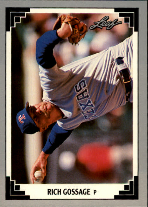 1991 Leaf #236 Rich Gossage