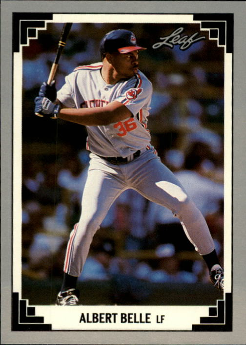 1991 Leaf #239 Albert Belle