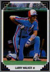 1991 Leaf #241 Larry Walker