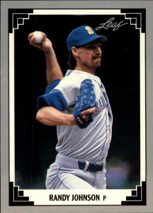 1991 Leaf #319 Randy Johnson