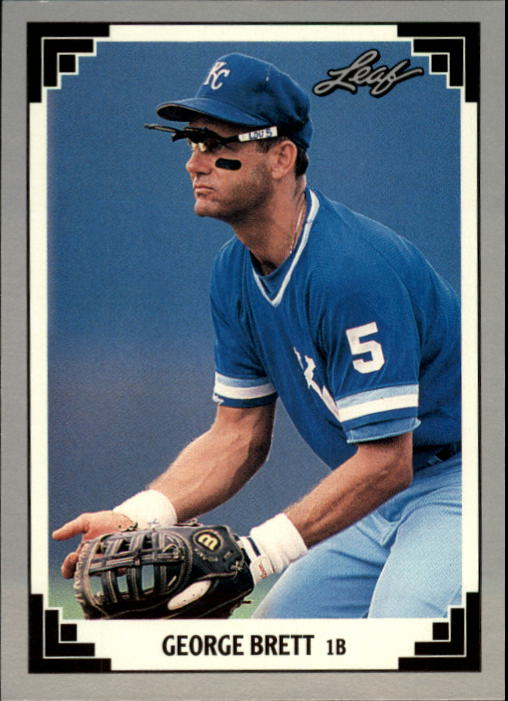 1991 Leaf #335 George Brett