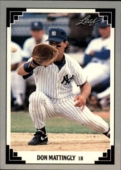 1991 Leaf #425 Don Mattingly front image