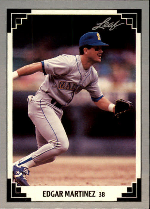 1991 Leaf #477 Edgar Martinez