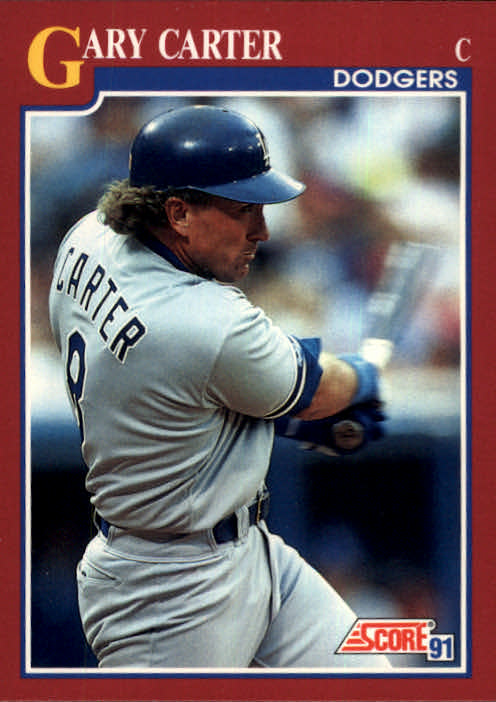 1991 Score Rookie/Traded #26T Gary Carter