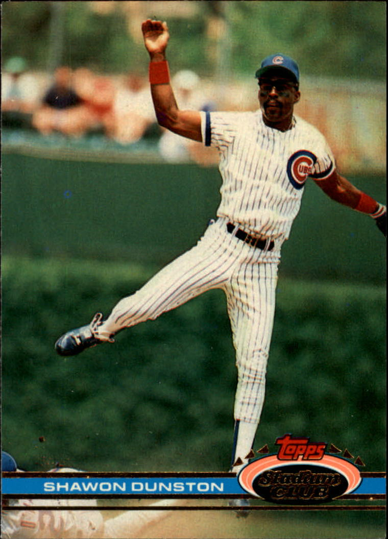 1991 Stadium Club #3 Shawon Dunston
