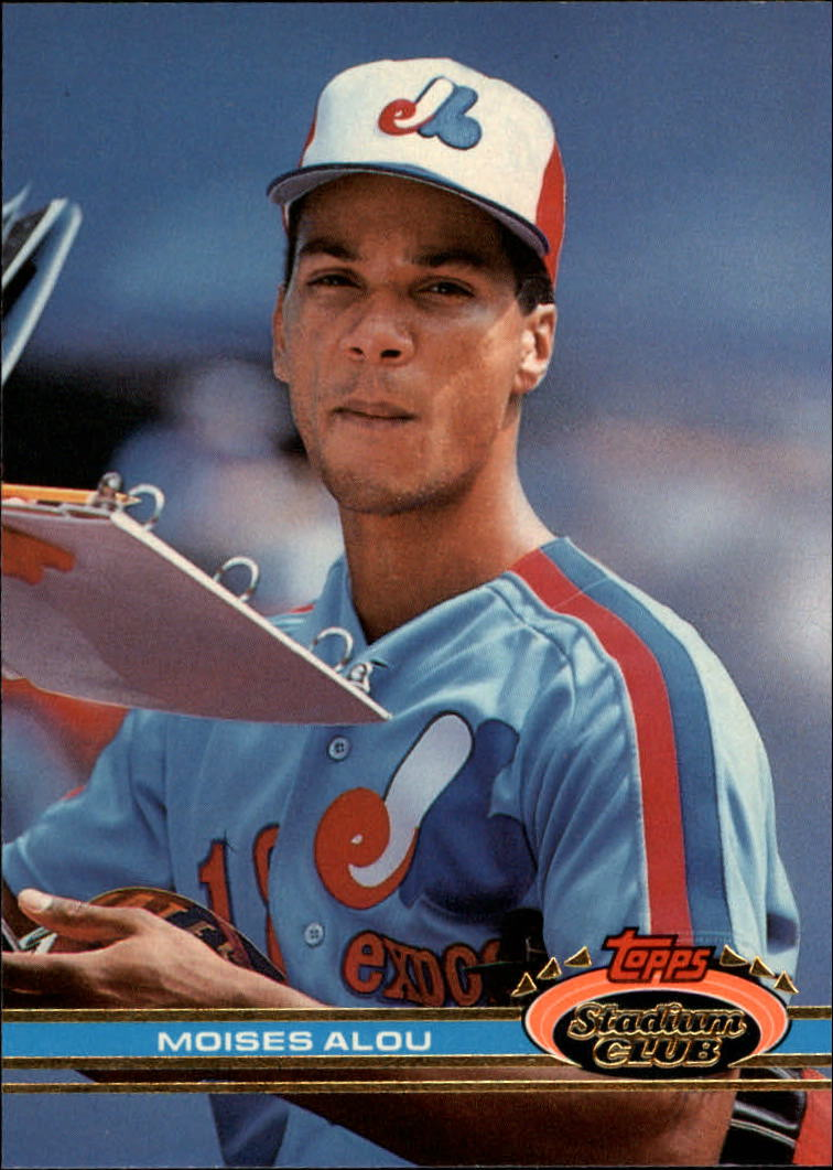 1991 Stadium Club #31 Moises Alou