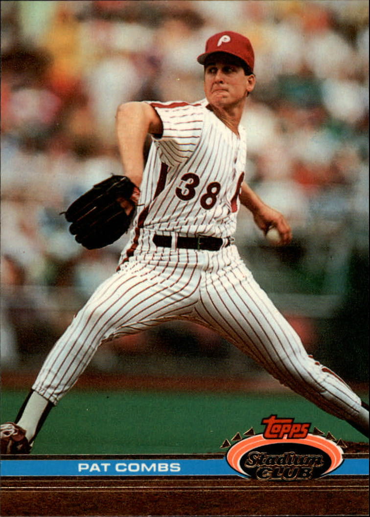 1991 Stadium Club #36 Pat Combs