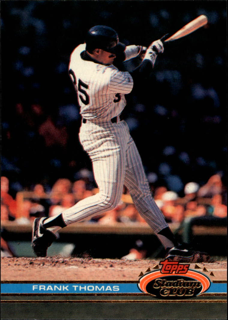 1991 Stadium Club #57 Frank Thomas