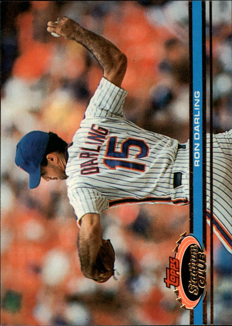 1991 Stadium Club #60 Ron Darling