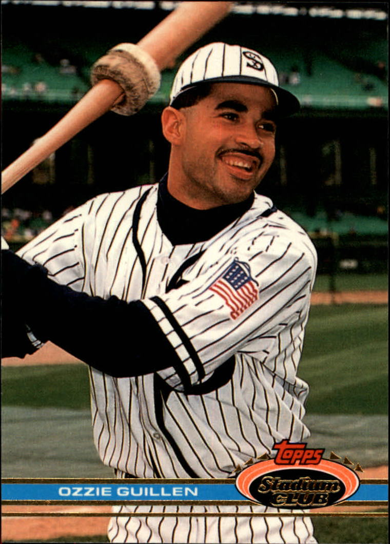 1991 Stadium Club #70 Ozzie Guillen front image