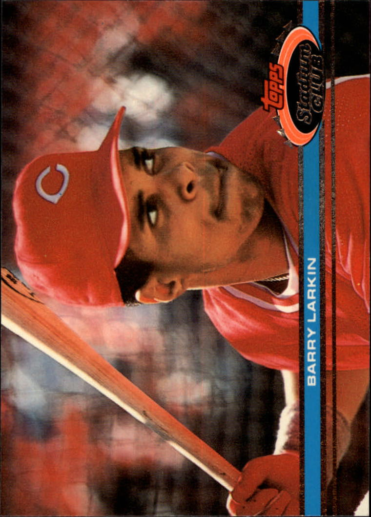 1991 Stadium Club #92 Barry Larkin