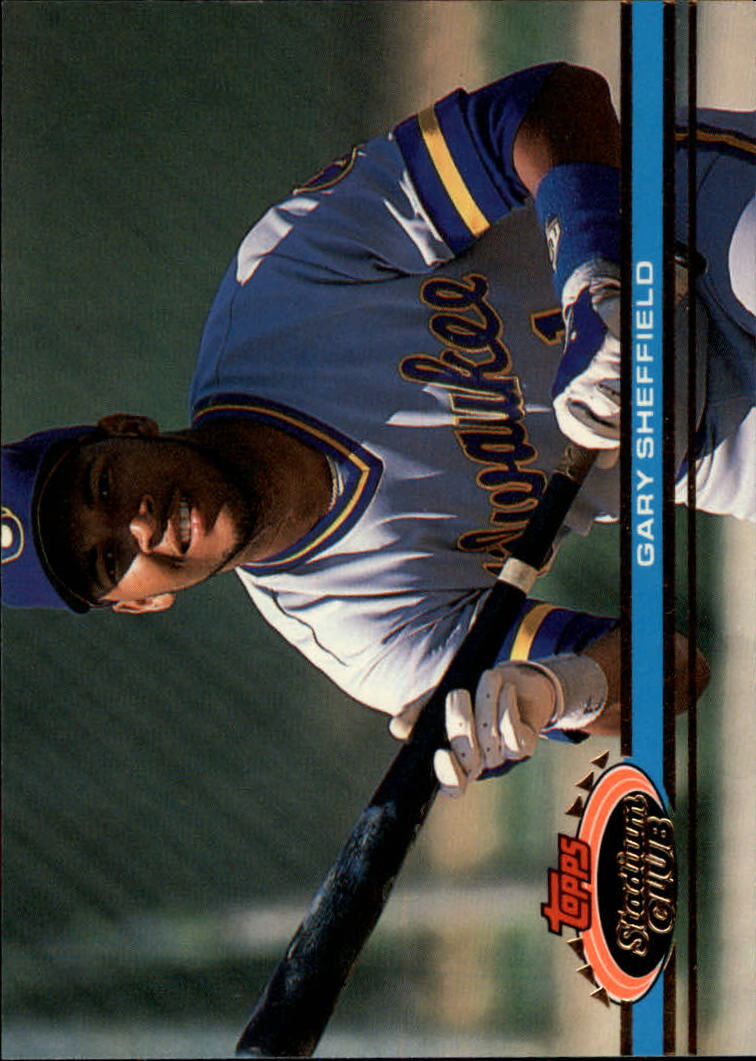 1991 Stadium Club #95 Gary Sheffield