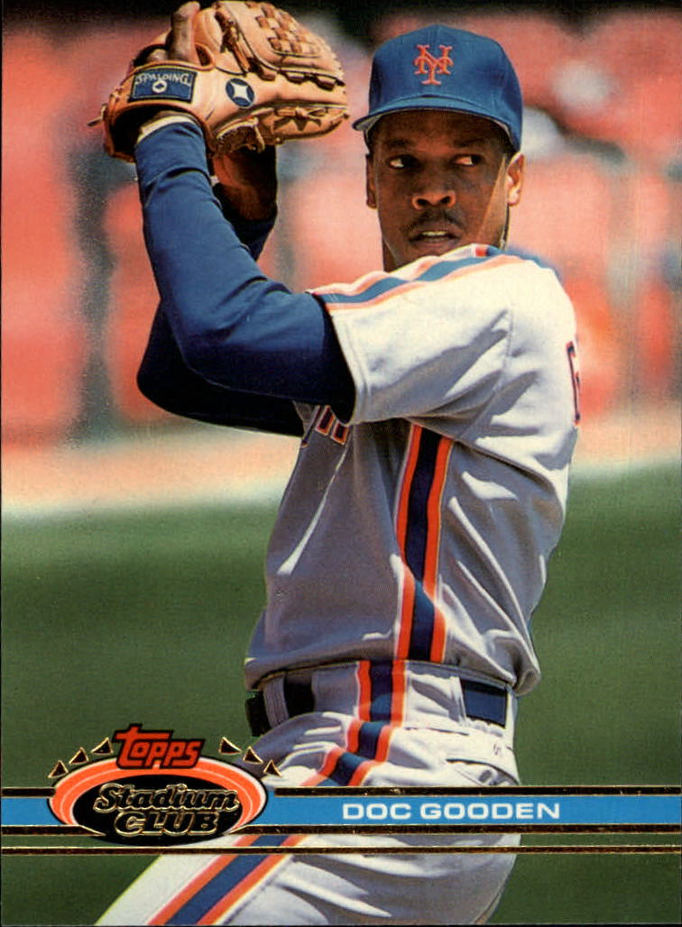 1991 Stadium Club #100 Dwight Gooden