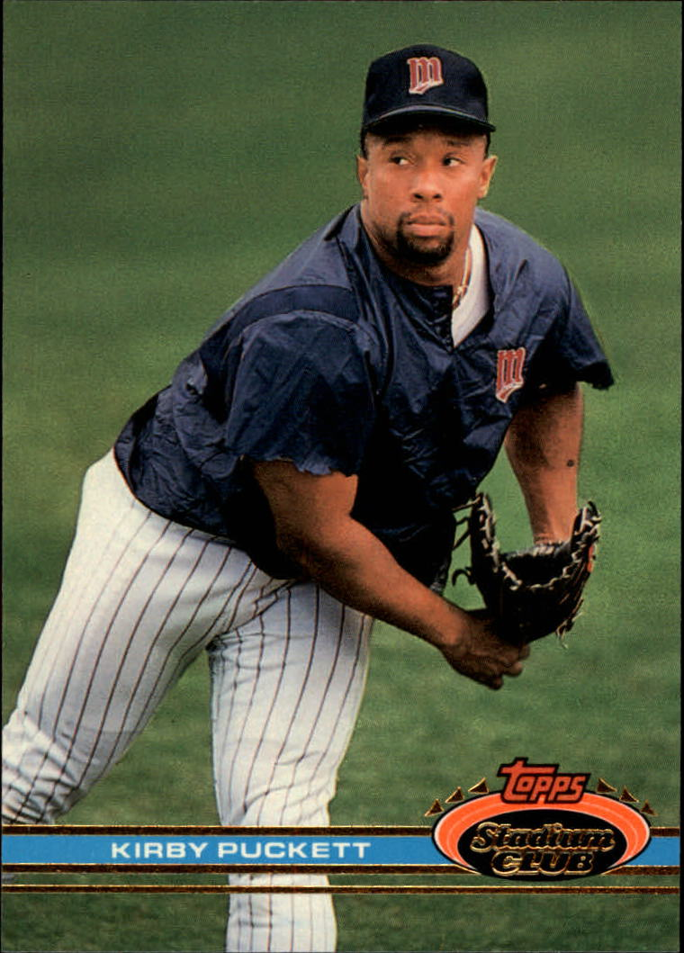 1991 Stadium Club #110 Kirby Puckett