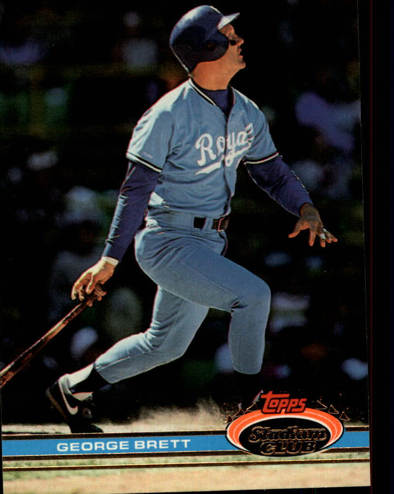 1991 Stadium Club #159 George Brett