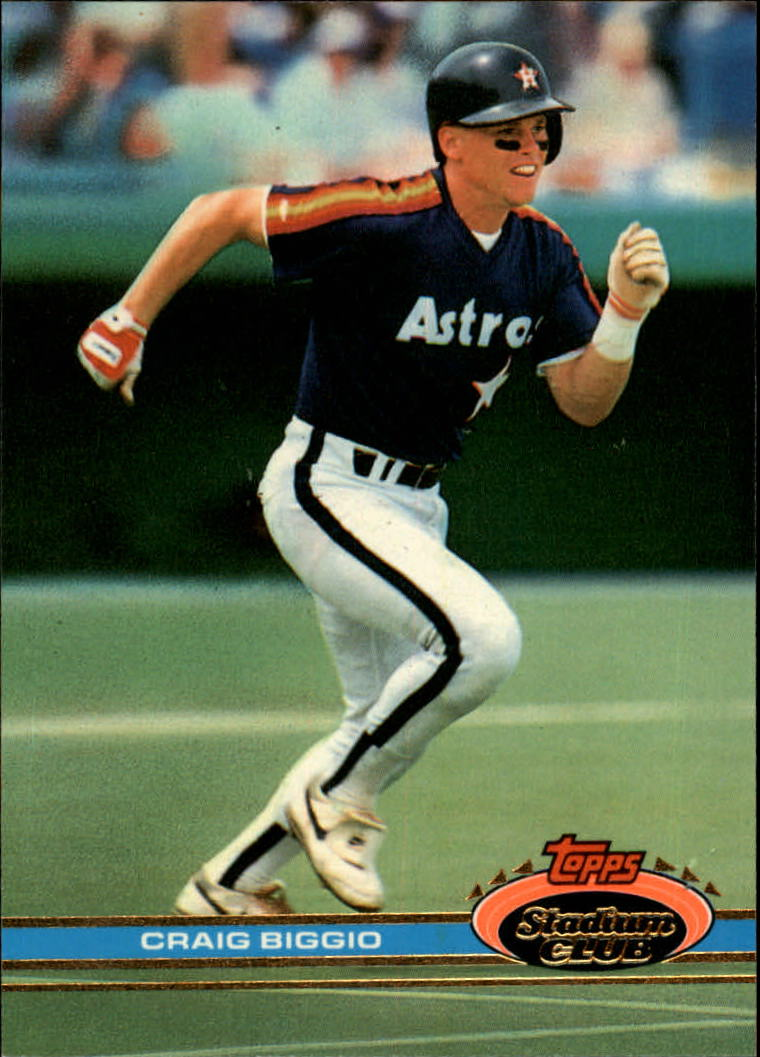 1991 Stadium Club #176 Craig Biggio