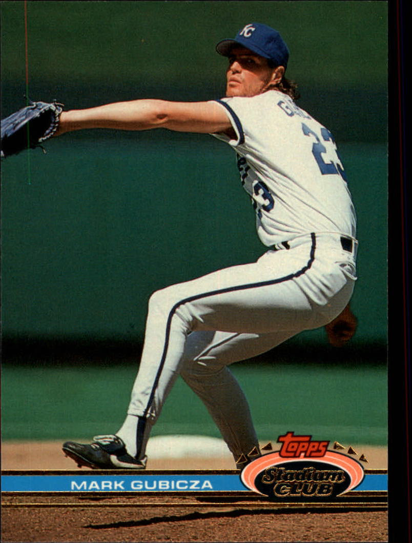 1991 Stadium Club #240 Mark Gubicza